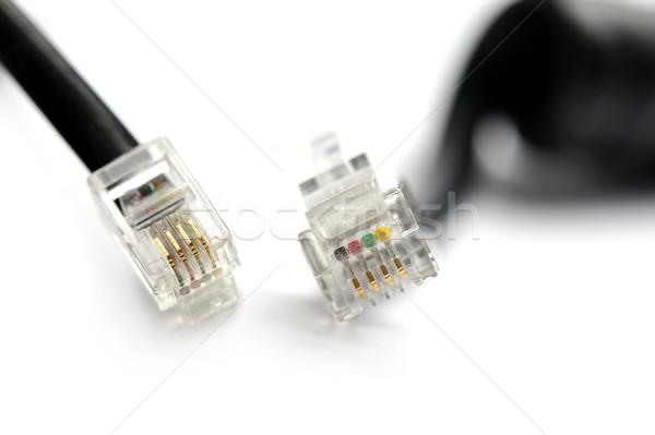 Telefon farklı görmek enerji Stok fotoğraf © limpido