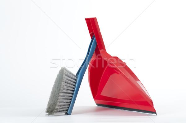 Сток-фото: внутренний · инструменты · щетка · интерьер · очистки · чистой