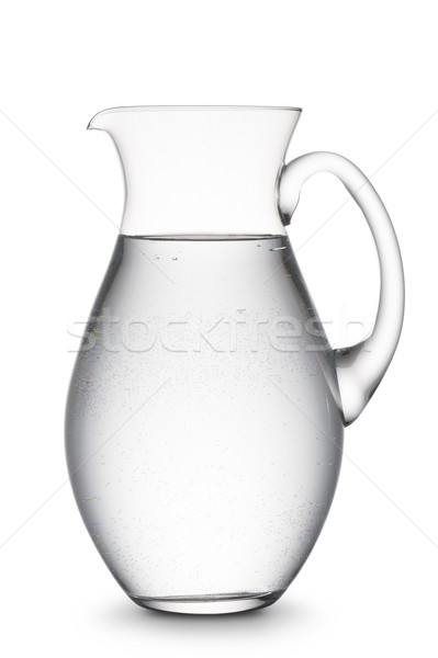 Sürahi su tok doğal beyaz gıda Stok fotoğraf © limpido