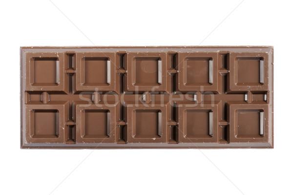 çikolata çikolata yalıtılmış beyaz arka plan süt Stok fotoğraf © limpido