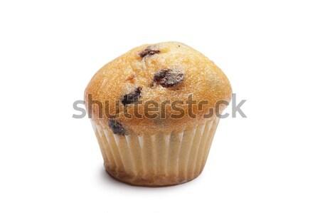çörek beyaz gıda çikolata kek turta Stok fotoğraf © limpido