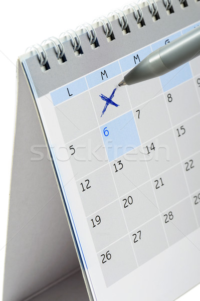 calendar Stock photo © limpido