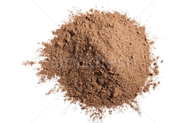 Toz yalıtılmış beyaz tatlı taze hasat Stok fotoğraf © limpido