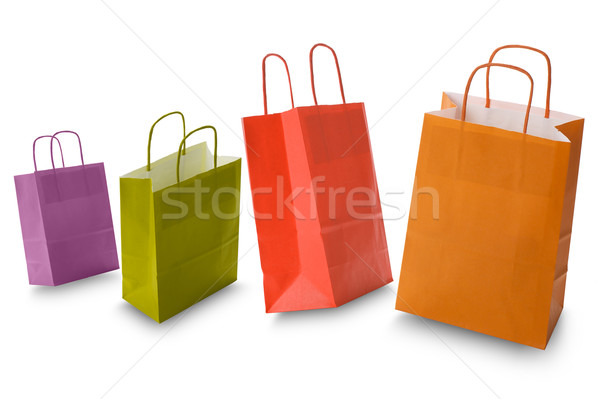 shopping bags Stock photo © limpido