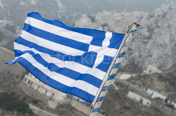greek flag Stock photo © limpido