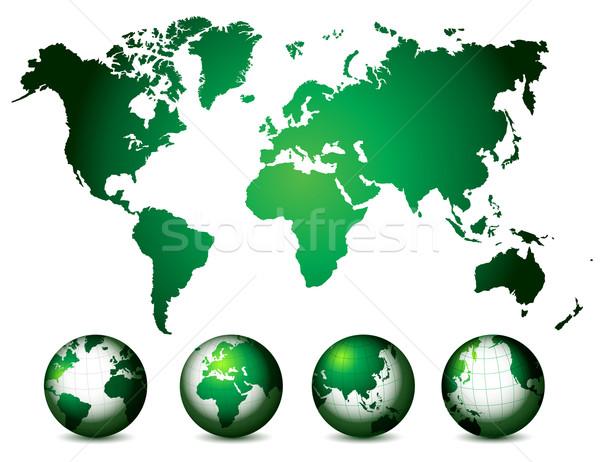 商业照片 / 矢量图: 世界地图 · 地球 · 因特网 · 世界 · 技术