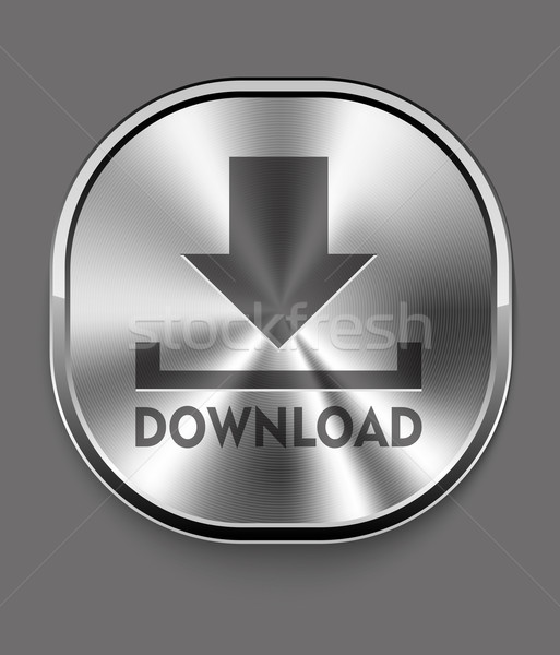 Download icon computer design tecnologia segno documenti Foto d'archivio © lindwa