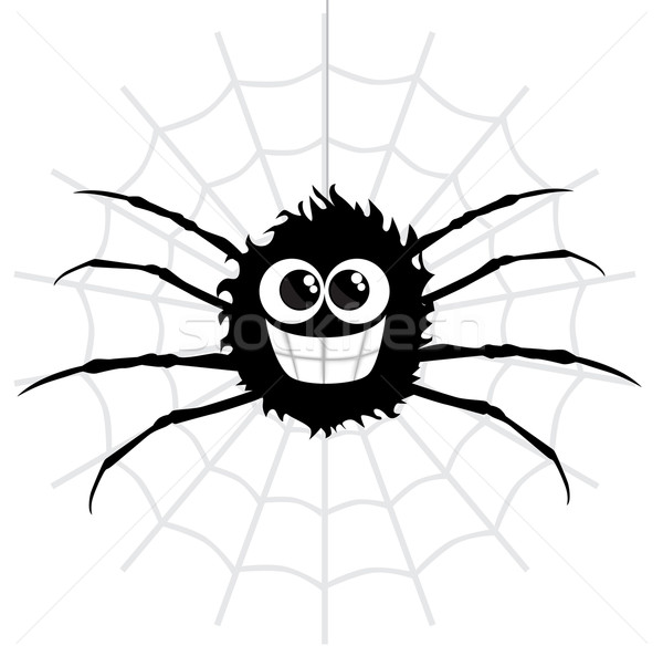 Cartoon spider Stock photo © lindwa