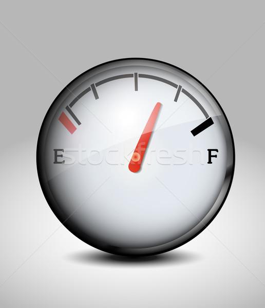 Fuel indicator icon Stock photo © lindwa