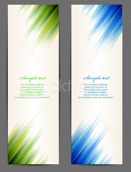 Vector banner Stock photo © lindwa