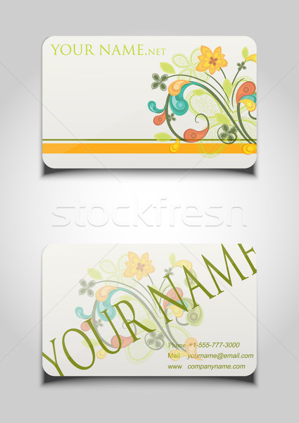 Business cards  Stock photo © lindwa