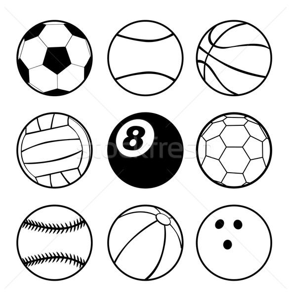 Esportes esportes projeto futebol assinar Foto stock © lindwa