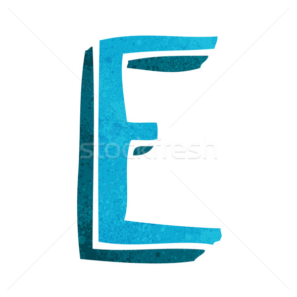 cartoon letter Stock photo © lineartestpilot