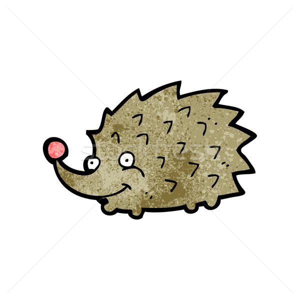 cartoon hedgehog Stock photo © lineartestpilot