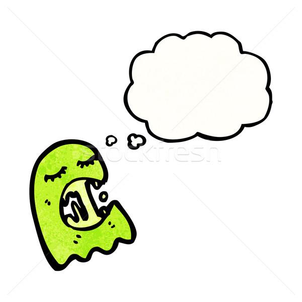 gross ghost cartoon Stock photo © lineartestpilot