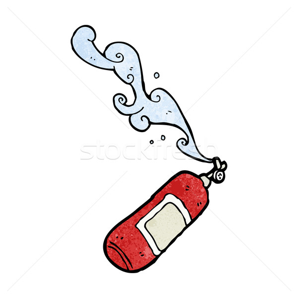 cartoon fire extinguisher Stock photo © lineartestpilot