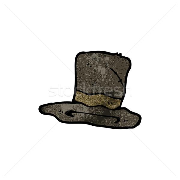 cartoon top hat Stock photo © lineartestpilot