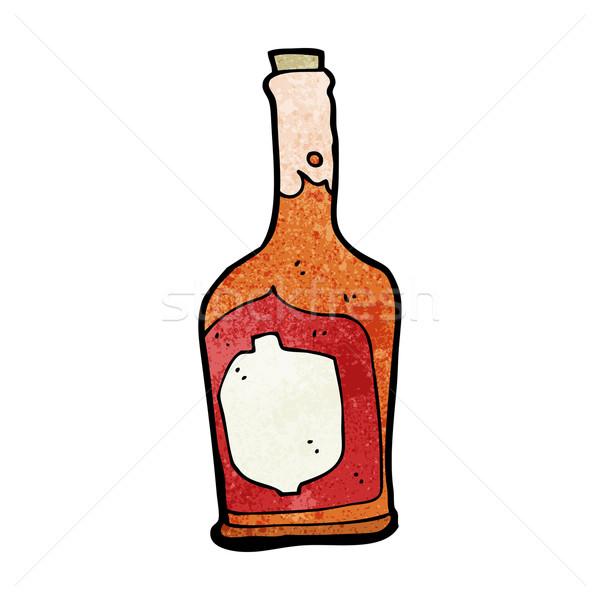 漫画 ボトル ラム酒 デザイン 芸術 ドリンク ストックフォト © lineartestpilot