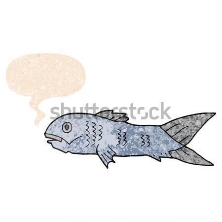 漫画 サメ 思考バブル 手 デザイン 芸術 ストックフォト © lineartestpilot