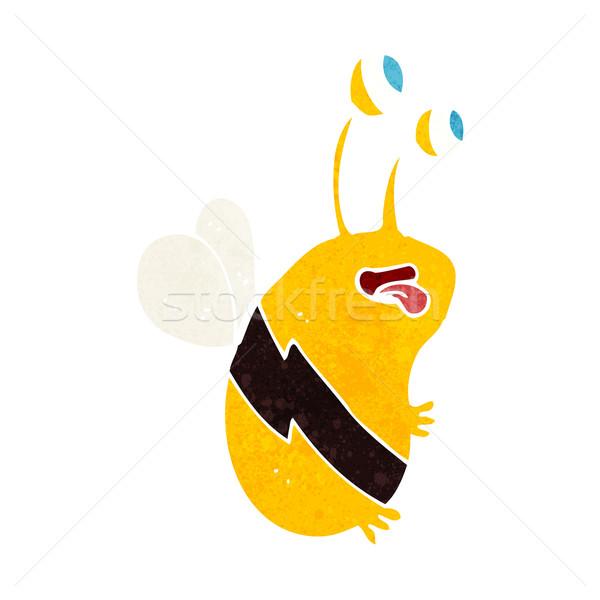 cartoon funny bee Stock photo © lineartestpilot