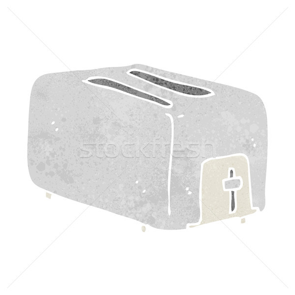 cartoon toaster Stock photo © lineartestpilot