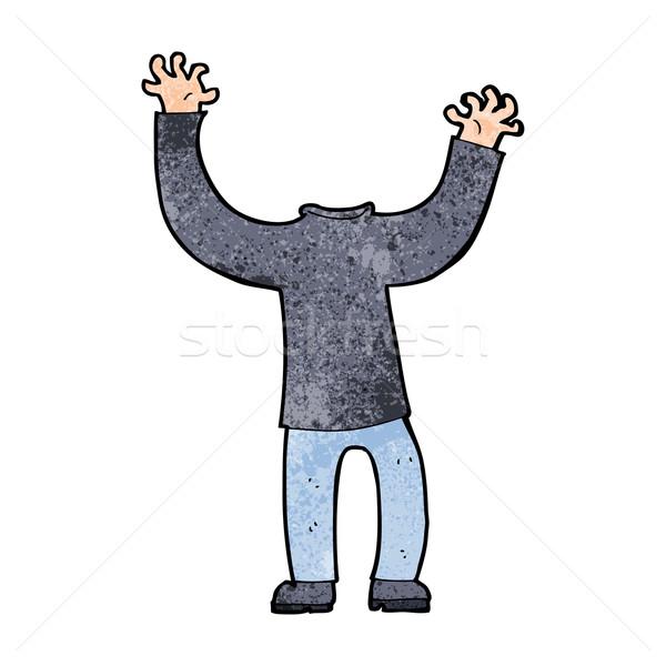 cartoon headless body Stock photo © lineartestpilot