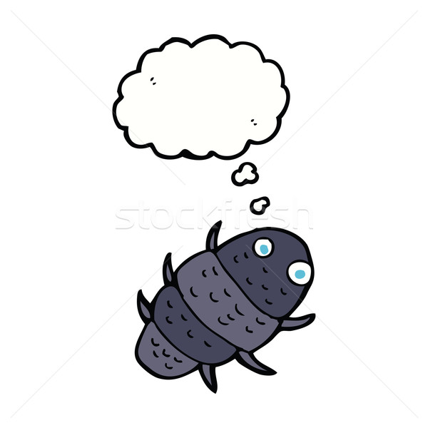 cartoon bug with thought bubble Stock photo © lineartestpilot
