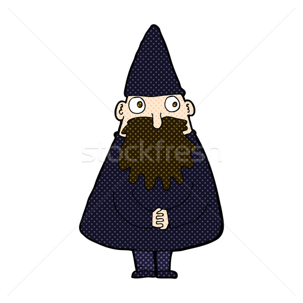 comic cartoon wizard Stock photo © lineartestpilot