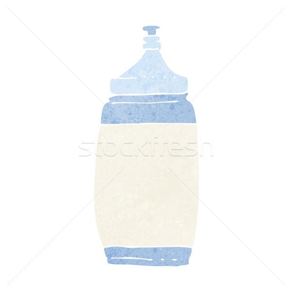 Cartoon фляга воды дизайна искусства спортзал Сток-фото © lineartestpilot