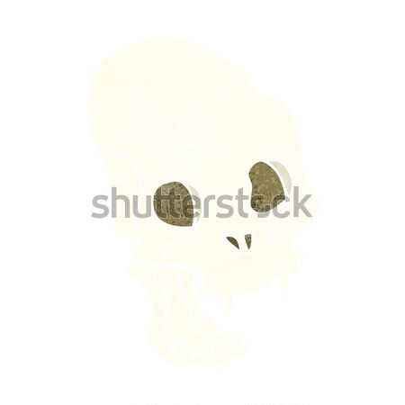 cartoon spooky vampire skull Stock photo © lineartestpilot
