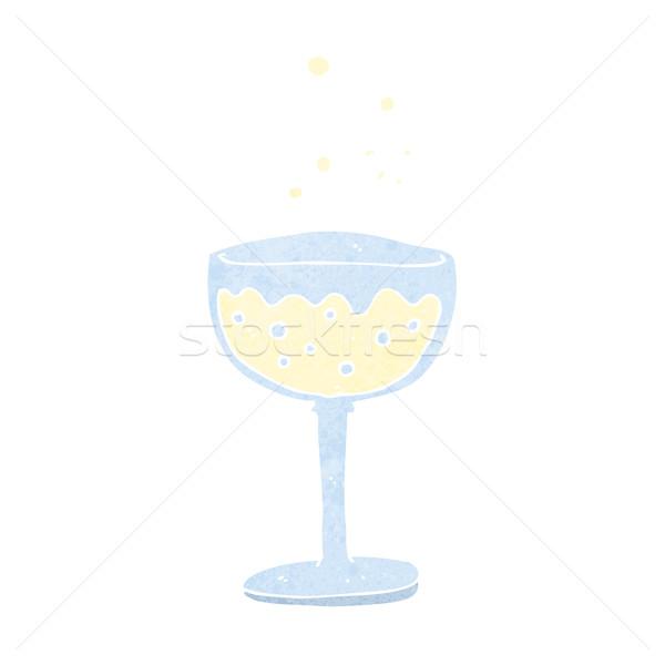 cartoon sparkling wine Stock photo © lineartestpilot