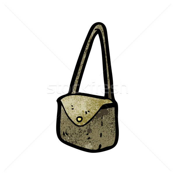 cartoon satchel Stock photo © lineartestpilot