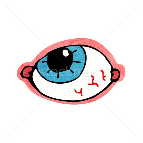 cartoon spooky eye Stock photo © lineartestpilot