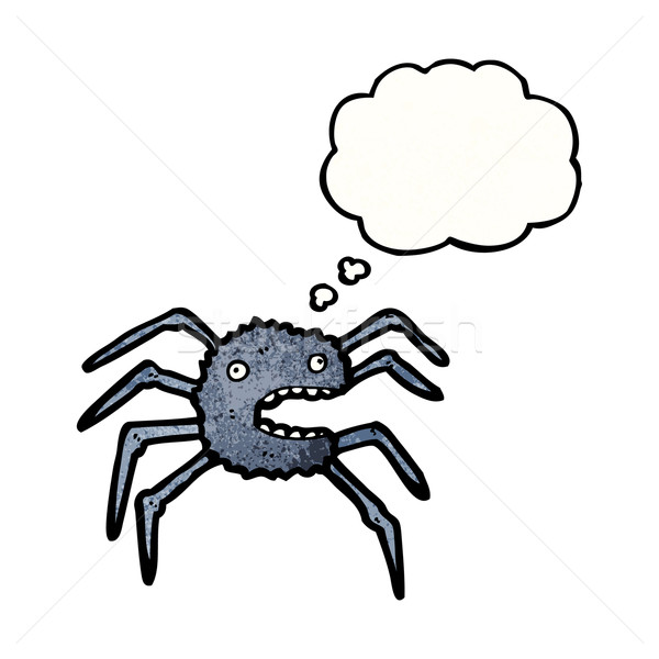 cartoon spider Stock photo © lineartestpilot