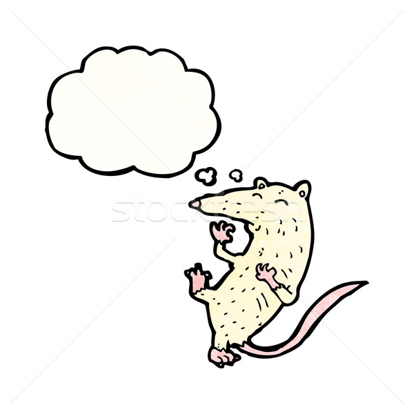 cartoon lab rat Stock photo © lineartestpilot