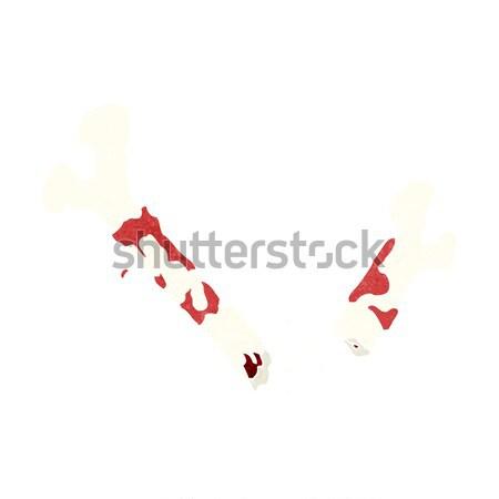 Cartoon danse Noël bonbons canne main Photo stock © lineartestpilot