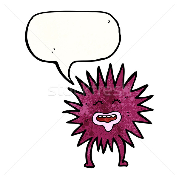 cartoon sea anemone Stock photo © lineartestpilot