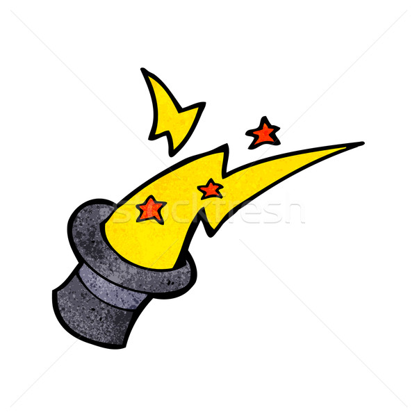 cartoon magic top hat Stock photo © lineartestpilot