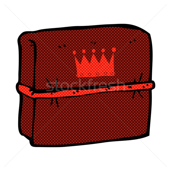 comic cartoon royal business files Stock photo © lineartestpilot
