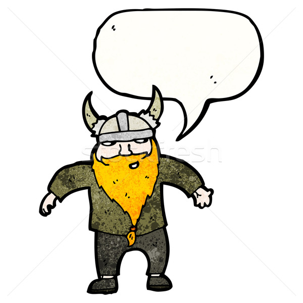 cartoon viking Stock photo © lineartestpilot