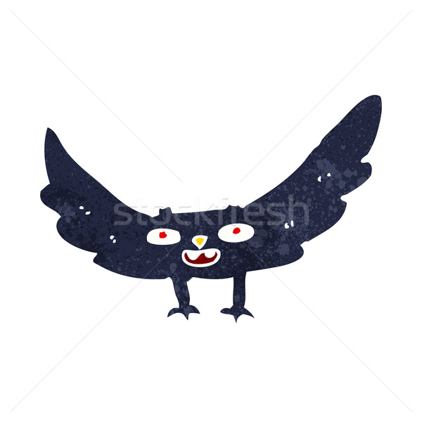 cartoon spooky vampire bat Stock photo © lineartestpilot