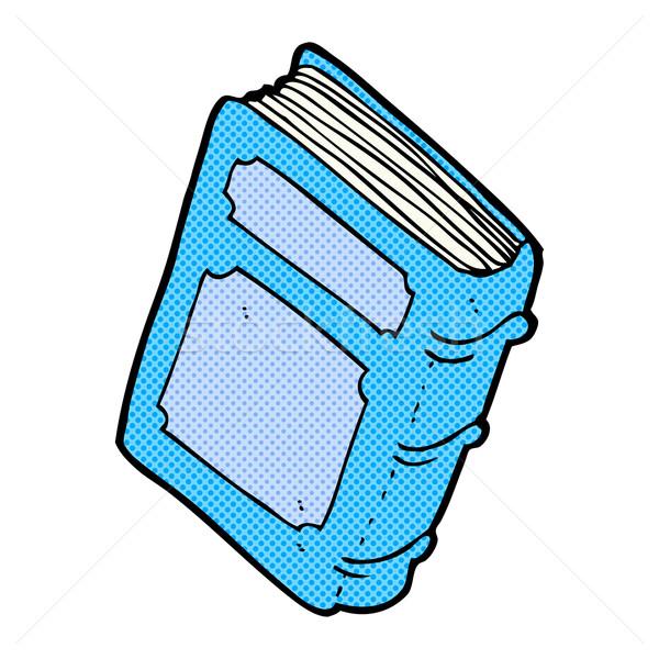 comic cartoon old book Stock photo © lineartestpilot