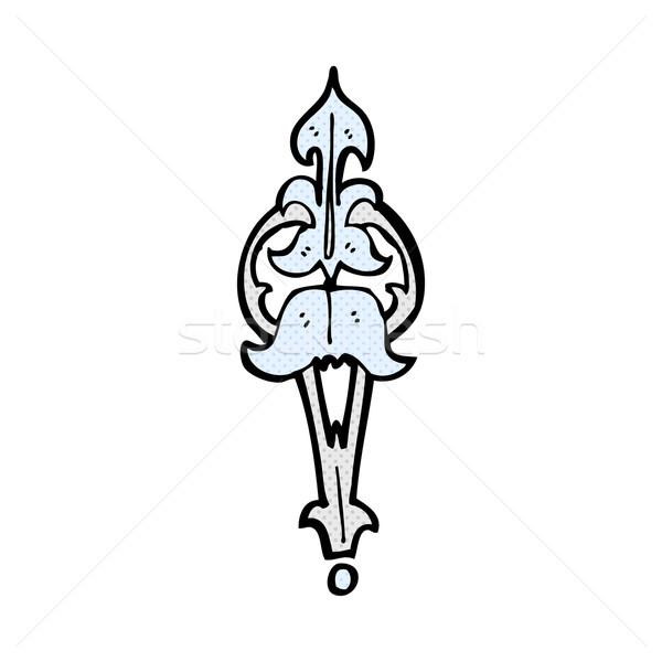 comic cartoon ornate clasp Stock photo © lineartestpilot