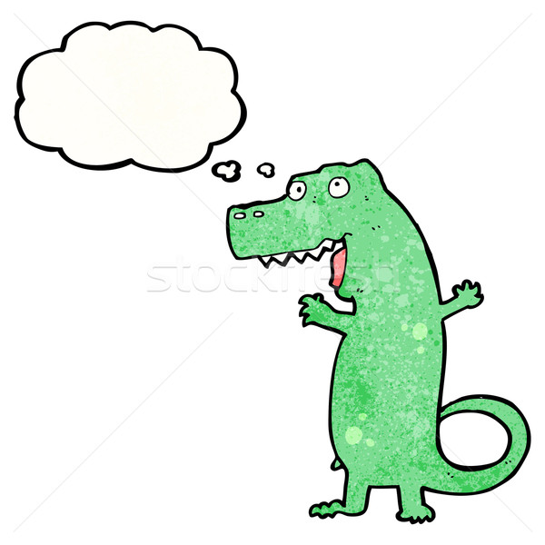 cartoon dinosaur Stock photo © lineartestpilot