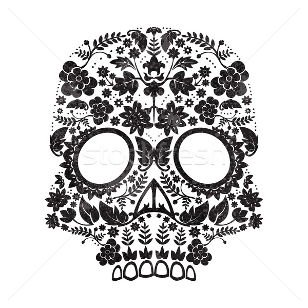 day of the dead skull Stock photo © lineartestpilot