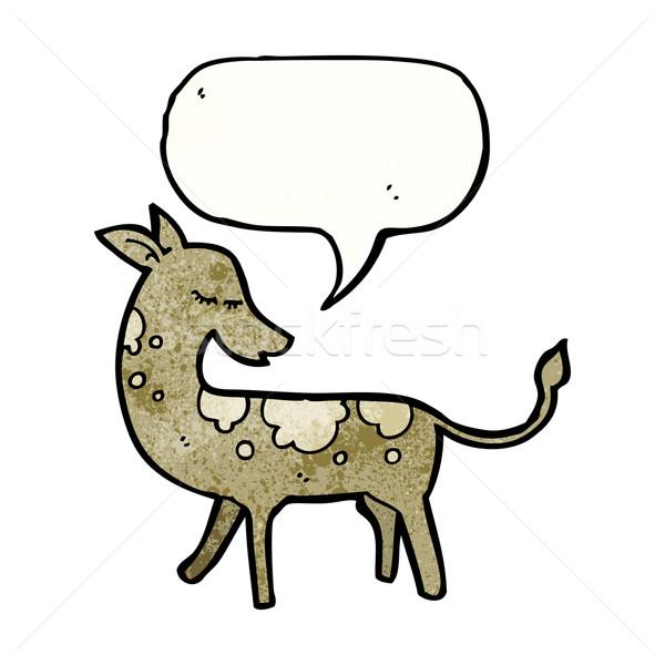 cartoon deer Stock photo © lineartestpilot