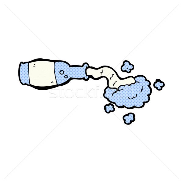 comic cartoon spilled bottle Stock photo © lineartestpilot