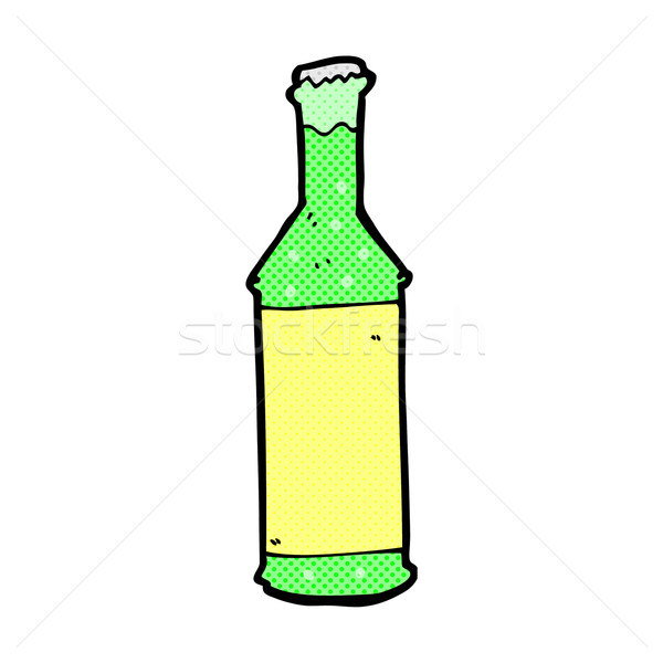 comic cartoon fizzy drinks bottle Stock photo © lineartestpilot