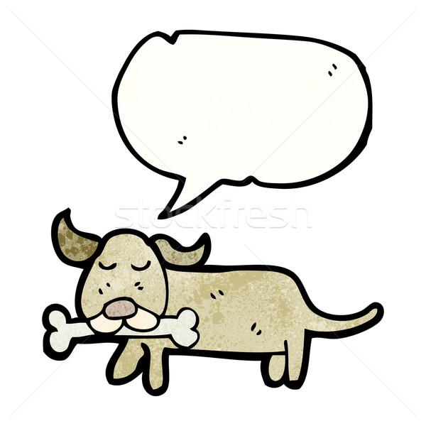 little dog cartoon Stock photo © lineartestpilot