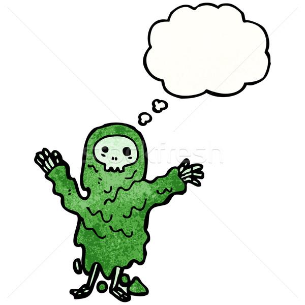 gross ghoul cartoon Stock photo © lineartestpilot